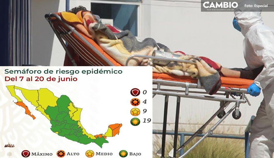 ¡Estamos salvados! Federación pone a Puebla en Semáforo Verde por baja de contagios