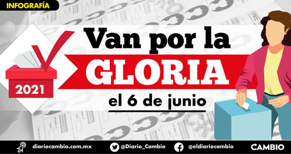 Van 13 partidos en busca de la gloria en Puebla por 217 alcaldías y 26 diputaciones