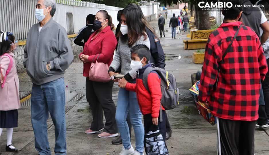 Más COVID en escuelas: Van 90 contagios en Puebla; 12 instituciones cerraron