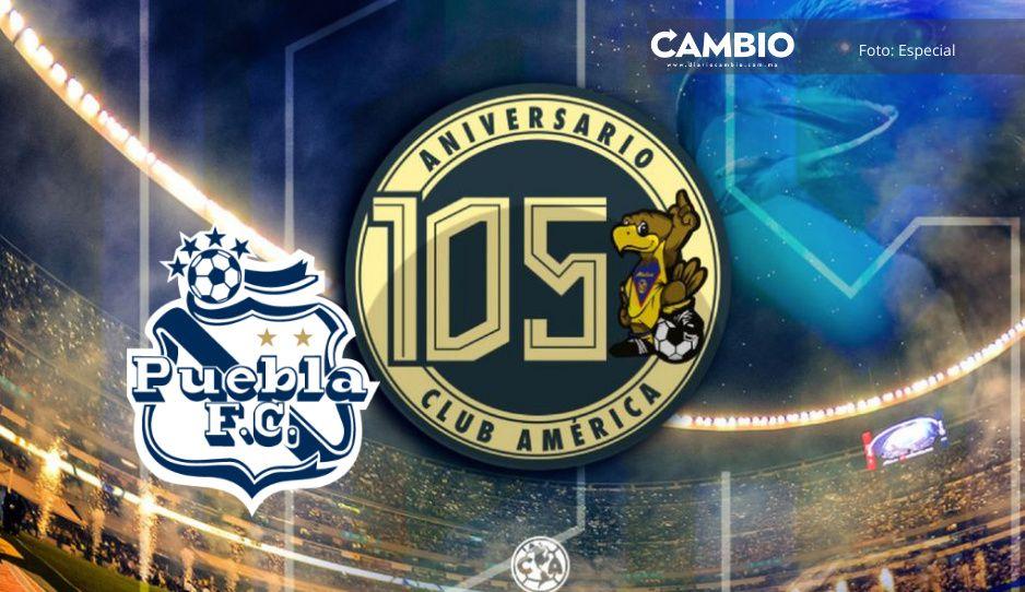 """Puebla """"trollea"""" al Club América con peculiar felicitación de aniversario"""