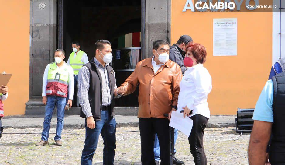 MBH encabeza simulacro de sismo en Puebla: participaron 436 mil poblanos (FOTOS Y VIDEOS)