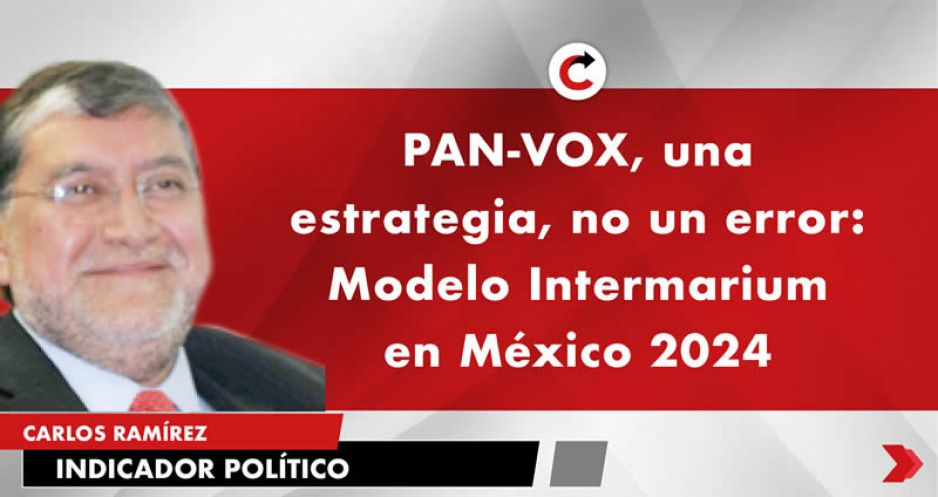PAN-VOX, una estrategia, no un error: Modelo Intermarium en México 2024