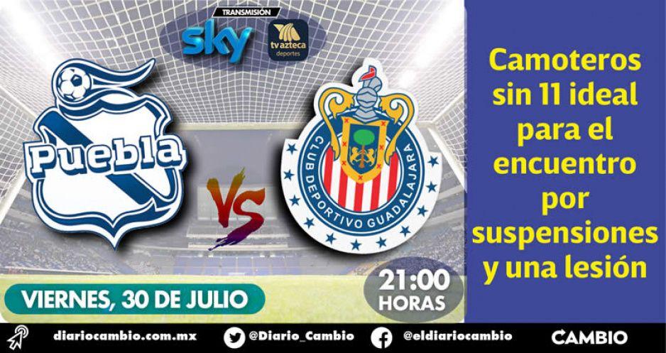 Club Puebla se estrena en el Cuauhtémoc al recibir esta noche a las Chivas