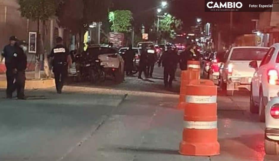 Operativo alcoholímetro sorprende a conductores ebrios en Tehuacán