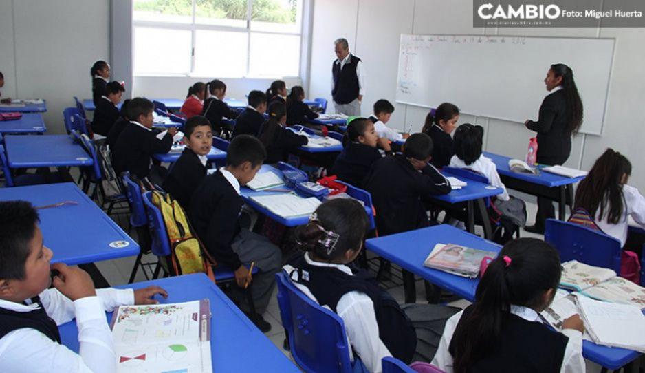 Puebla, sin condiciones para regresar a clases presenciales: Barbosa