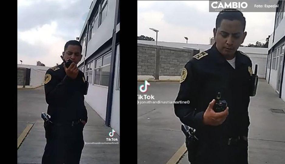 Separan de su cargo a policía por subir video Tik Tok con audio de Alex Lora