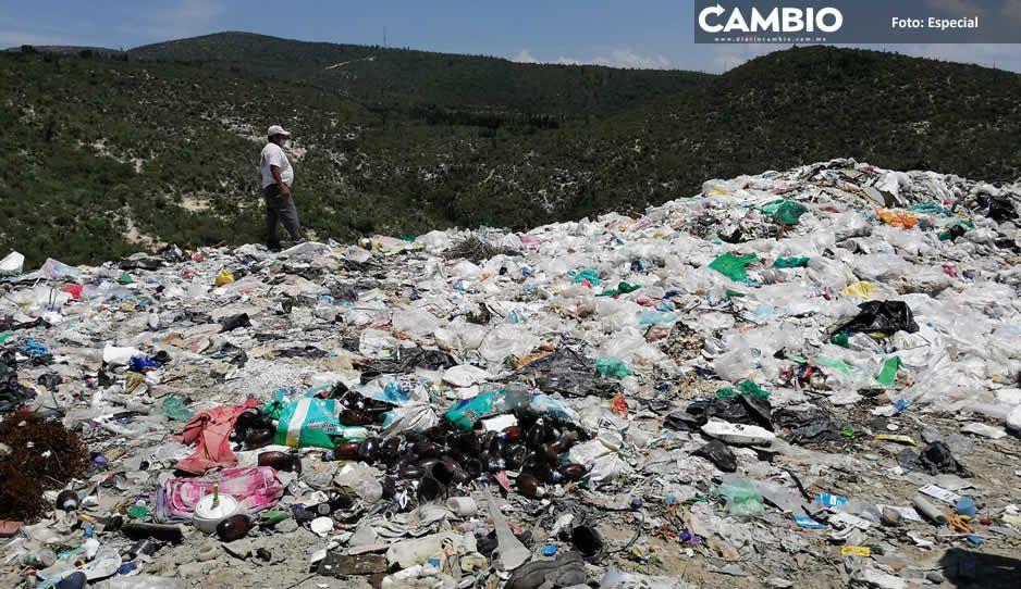 Artemio Caballero ya encontró terreno para nuevo basurero de Tehuacán, pero los vecinos se oponen