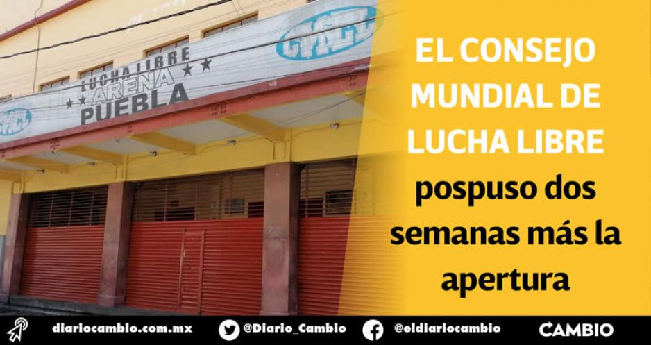 Arena Puebla seguirá cerrada: aforo de sólo 700 personas no es negocio