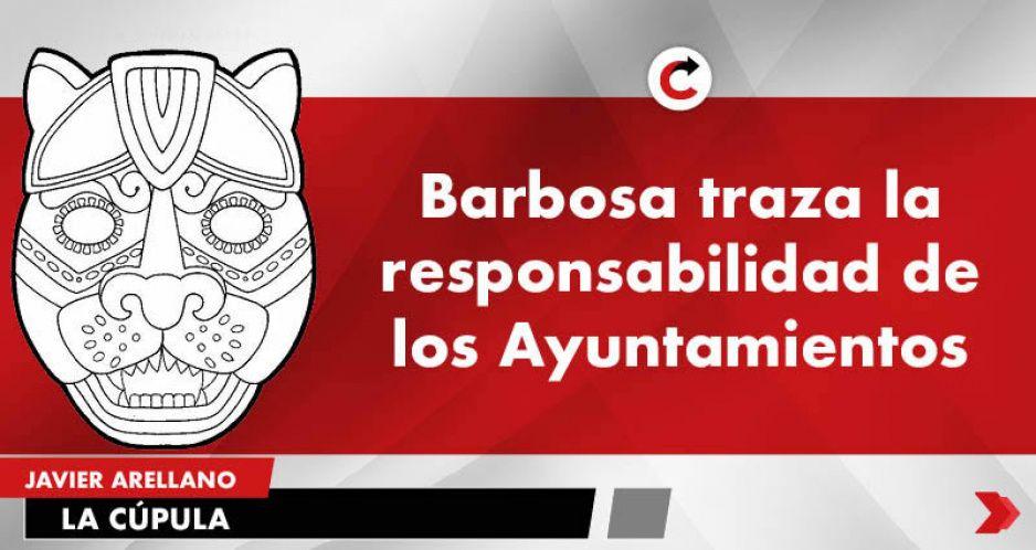 Barbosa traza la responsabilidad de los Ayuntamientos