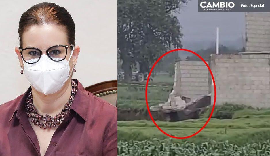 Segob confirma que casita de familia Sánchez fue devorada por el socavón; ya mide 126 metros