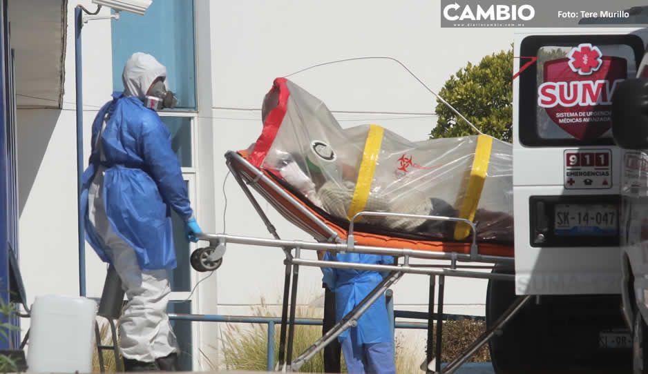 Registra Puebla 394 contagios y 51 muertos este 9 de febrero (VIDEO)