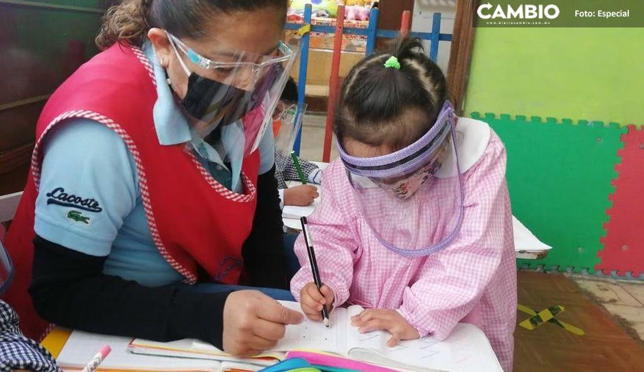 Estas son las tres condiciones para regresar a clases presenciales en Puebla