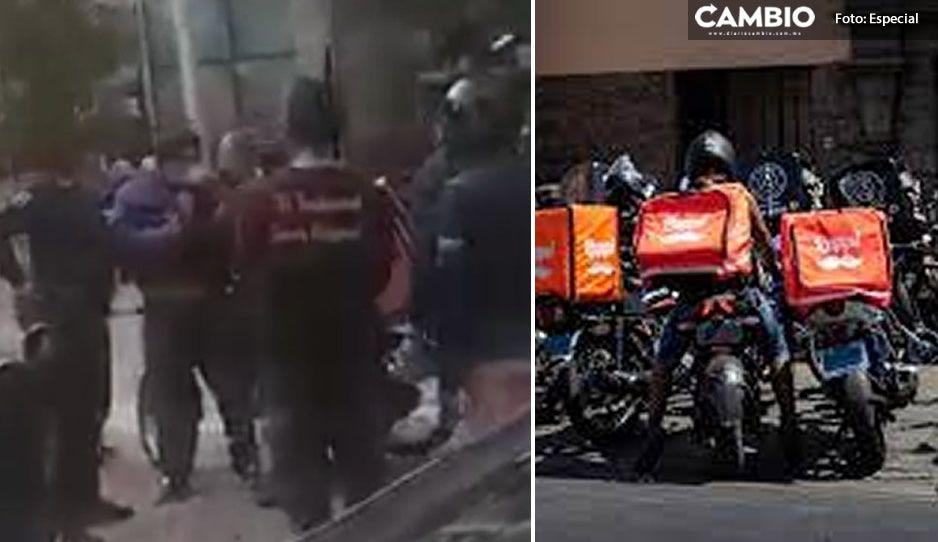Policías agresores de repartidor en Sonata son investigados por la FGE