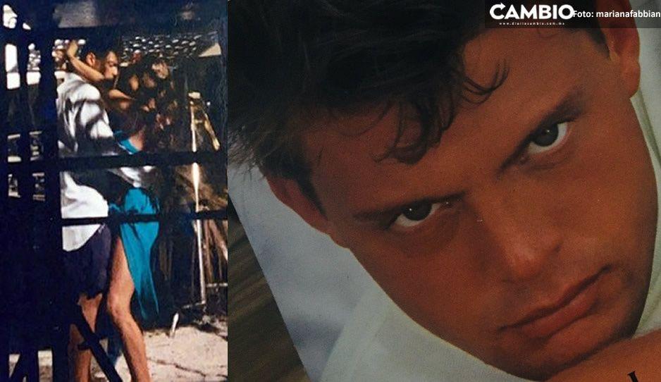 Filtran FOTOS inéditas de Luis Miguel mientras grababa la canción Suave