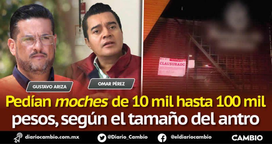 Titulares de Protección Civil de Puebla y San Andrés tras el cobro para tolerar antros clandestinos