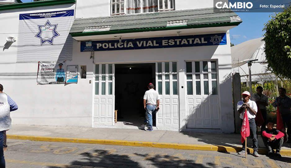 Las ultimas victimas de Vialidad Estatal; pagaban hasta 30 mil pesos por multas en Ajalpan