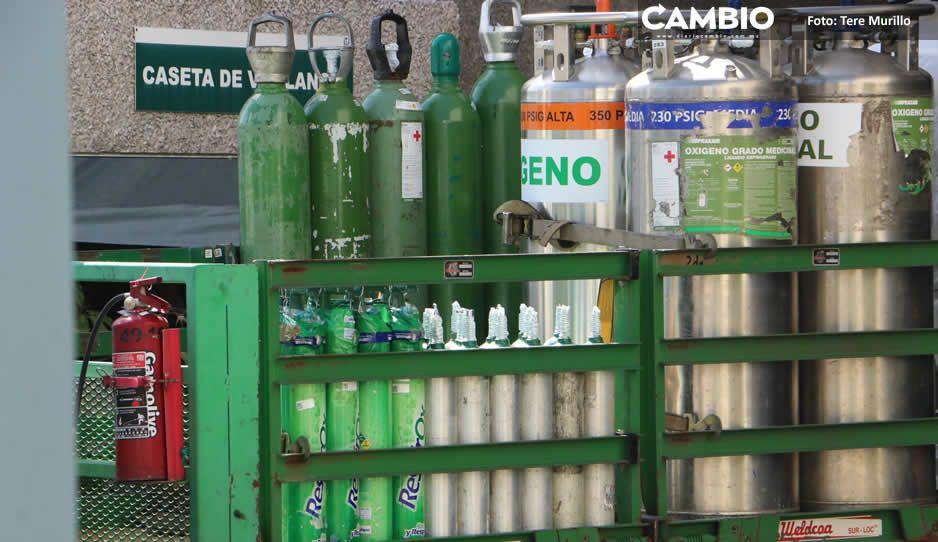 ¡Hay suficiente! Rellenar un tanque de oxígeno cuesta de 200 a 500 pesos en Infra y Praxair Puebla