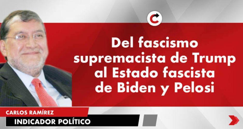 Del fascismo supremacista de Trump al Estado fascista de Biden y Pelosi