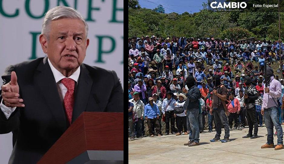 AMLO rechaza grupo de autodefensa Los Machetes: 'no se debe hacer justicia por propia mano'