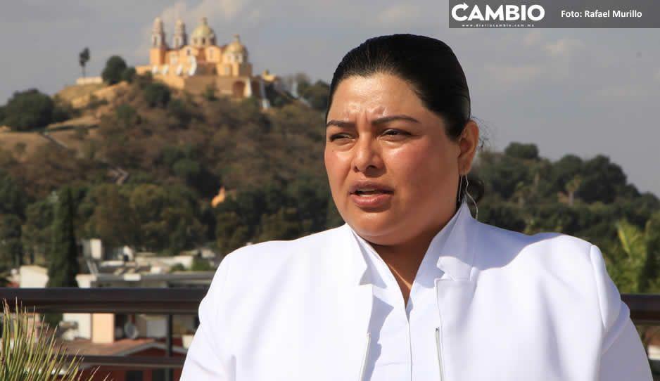 Hay narcomenudistas que se disfrazan de repartidores en Sonata: Karina Pérez Popoca