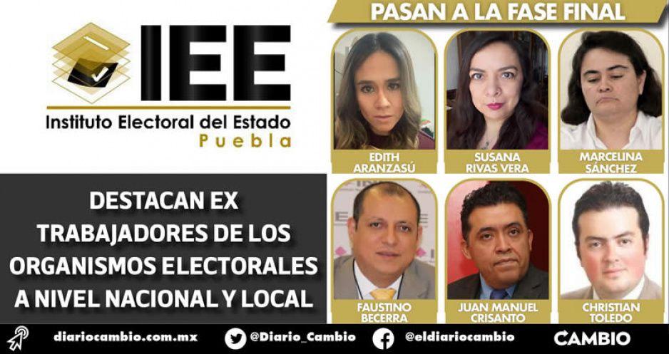 INE define a los 12 finalistas para las 3 plazas de consejeros locales del IEE