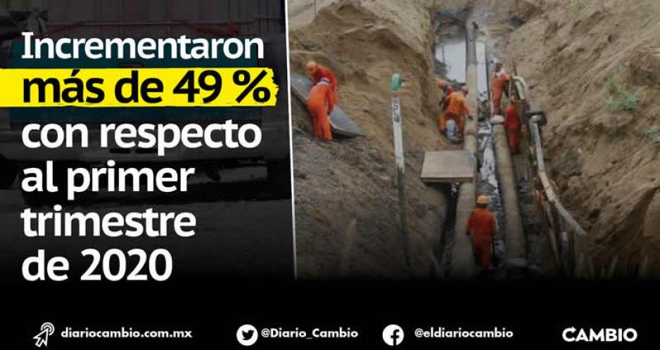 Puebla es tercero en el ranking de tomas clandestinas del país con 710