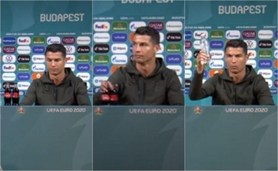 Coca-Cola perdió 4 mil millones de dólares gracias al gesto de Cristiano Ronaldo