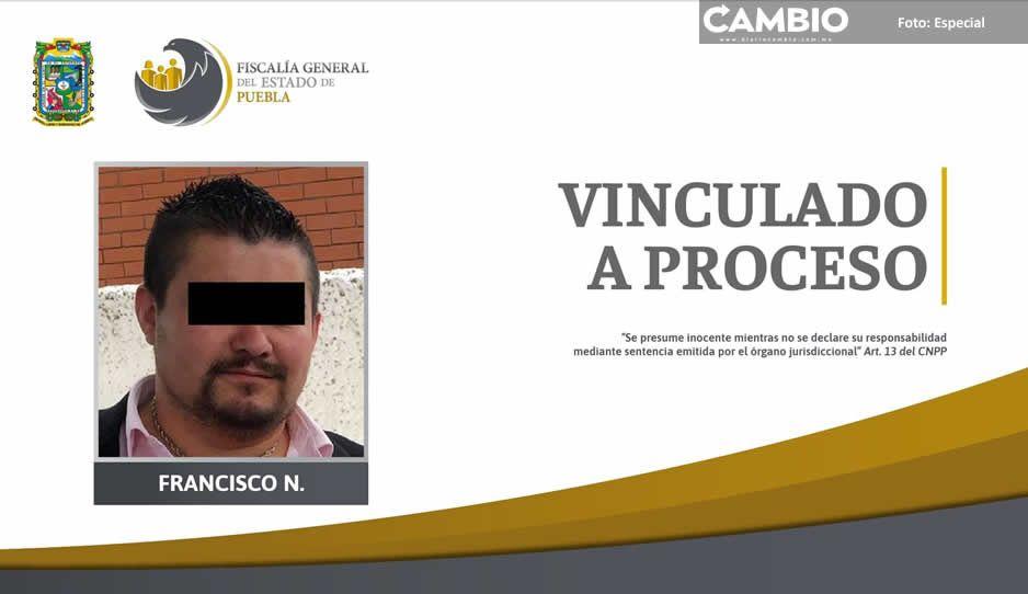 Vinculan a proceso a feminicida que en 2019 asfixió a su novia en Tehuacán