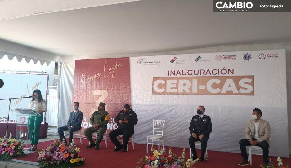 Norma Layón inaugura el primer Ceri-Cas a nivel estatal (FOTOS)