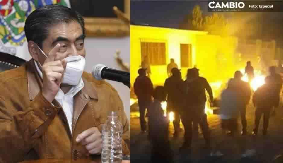 Habrá denuncia vs quienes quemaron urnas en seis municipios, advierte gobernador