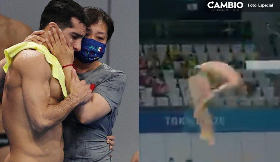VIDEO: El clavado de 3 puntos que le costó a Pacheco estar en el podio