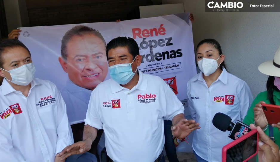 Con 10 asistentes, candidatos del PSI inician campaña en Tehuacán