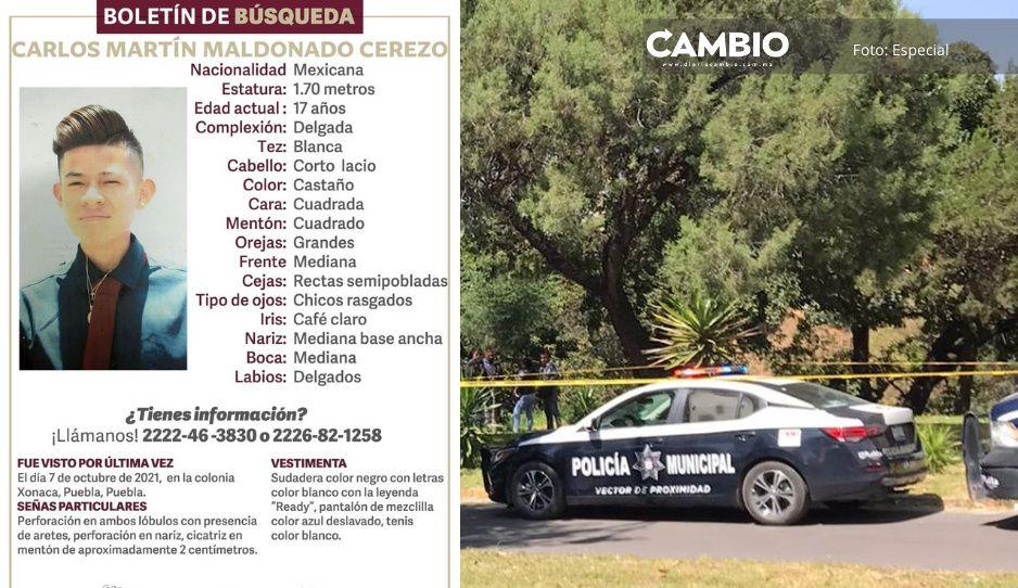 Carlos Martín fue reportado como desaparecido, pero lo encontraron muerto en Bosques de San Sebastián