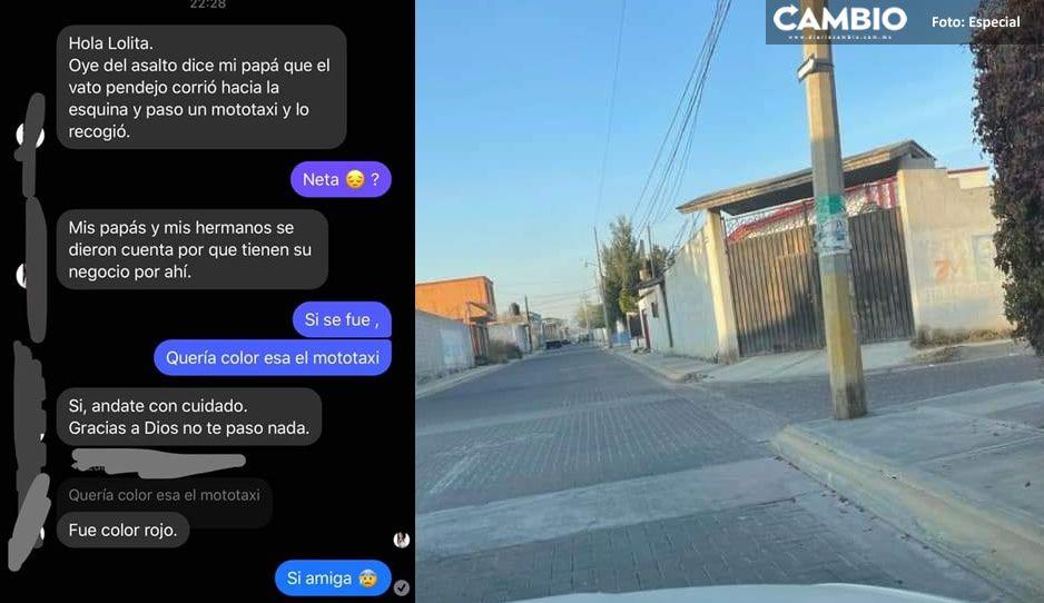 ¡Imparables los asaltos en Acatzingo! En un día reportan cinco atracos a transeúntes