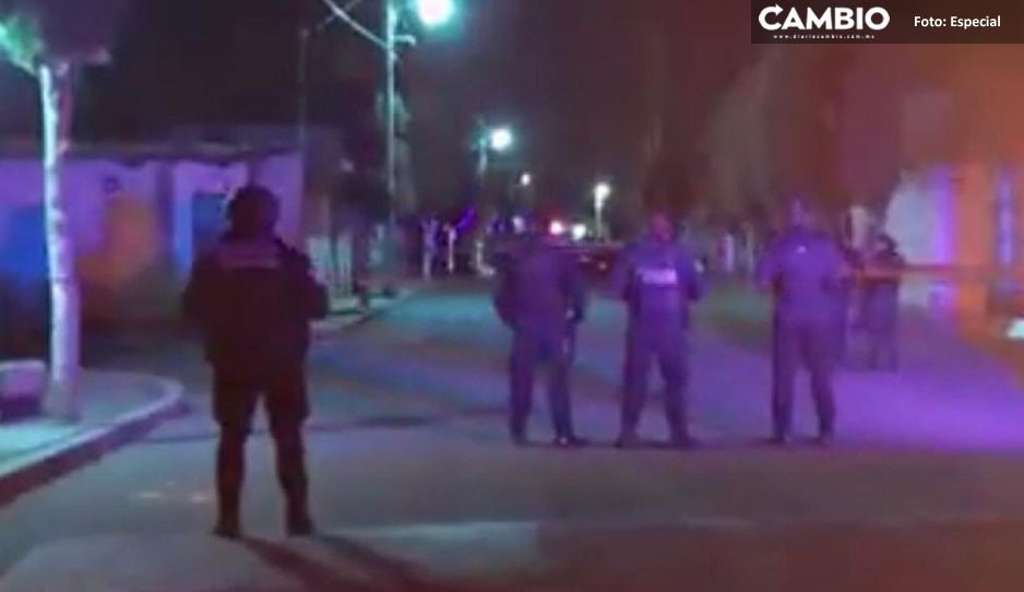 Sicarios siembran terror en Ciudad Serdán; acribillan a dos hombres