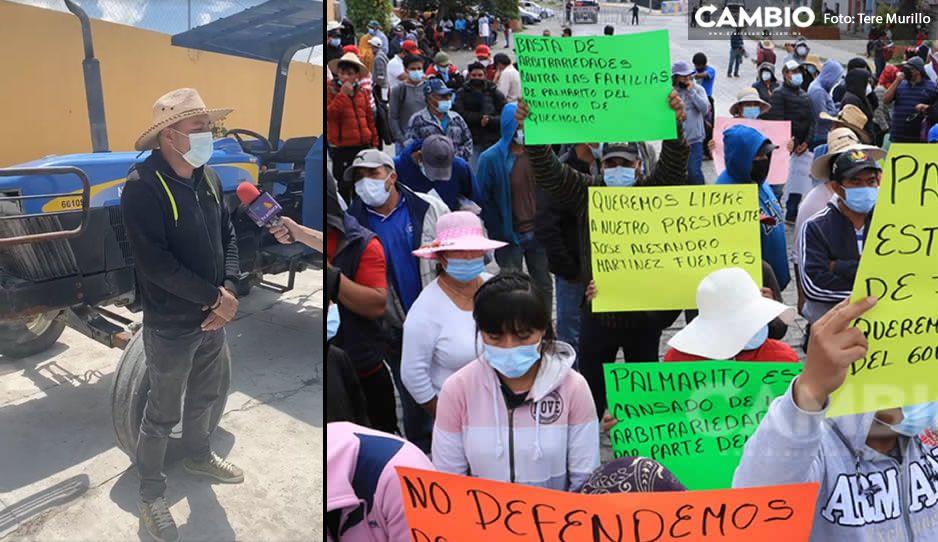 El Toñín se lava las manos; niega que manifestación en Casa Aguayo sea en su nombre (VIDEO)