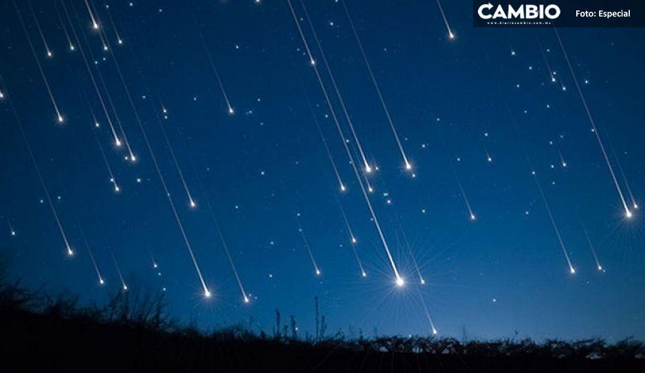 ¡No te pierdas la lluvia de estrellas! Checa cuándo y cómo verla