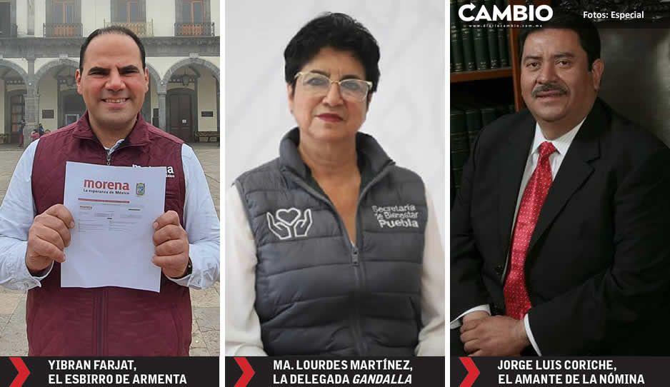 Armentistas, lastiristas y barbosistas pelean por candidatura de Morena para la alcaldía de Zacatlán