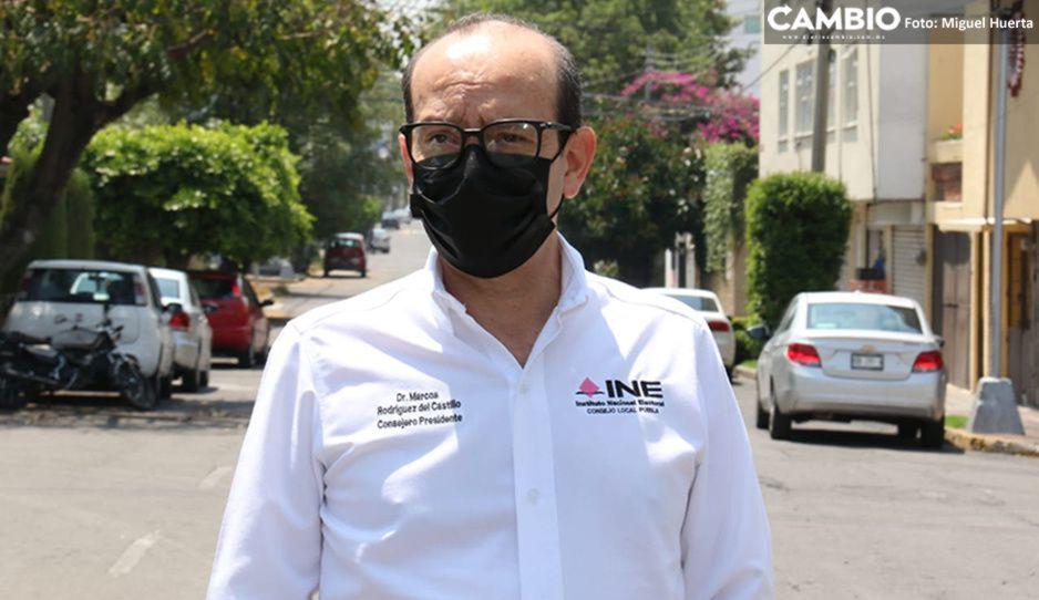 Recibe INE Puebla 24 quejas por actos anticipados de campaña