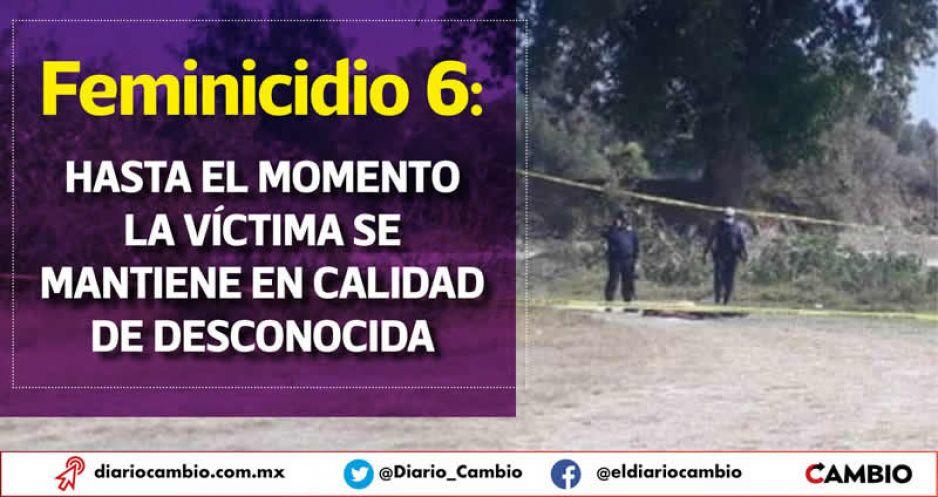 Feminicidio 6: en Tepeaca encuentran a una mujer golpeada y estrangulada