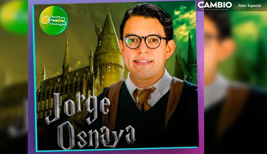 """Avada Kedavra"" Candidato a diputado del PVEM se viste de Harry Potter para pedir el voto"