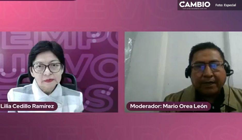 Lilia Cedillo promete extender servicio de transporte universitario para seguridad de estudiantes (VIDEO)