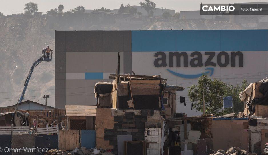 Amazon llega a Tijuana; lo critican por estar en una de las zonas más pobres