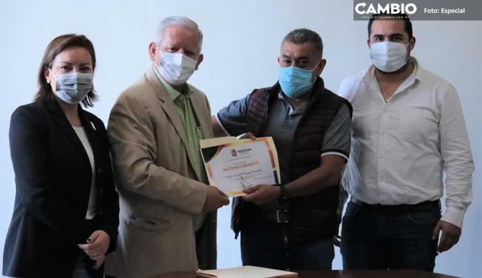 Gobierno de Teziutlán reconoce la labor de 40 inspectores municipales