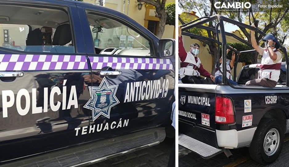Otra vez la patrulla AntiCovid-19 andará cazando a quienes no usen cubrebocas en Tehuacán