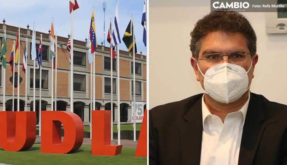 Ríos Piter garantiza pago de nóminas y becas a comunidad Udlap, pese a problemas legales