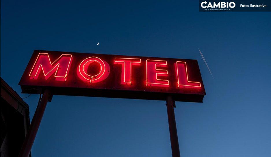 Ex novio obliga a jovencita entrar al motel para golpearla