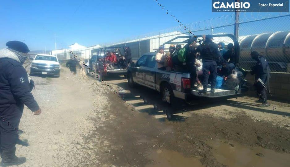 ¡Adiós sueño americano! Detectan a 23 indocumentados en Ciudad Serdán; serán repatriados