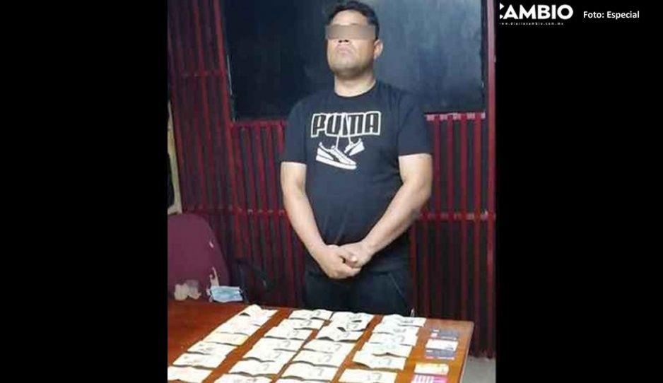 Ex subdirector de Reclusorios detenido por droga, es pareja sentimental de la directora del penal de Cholula