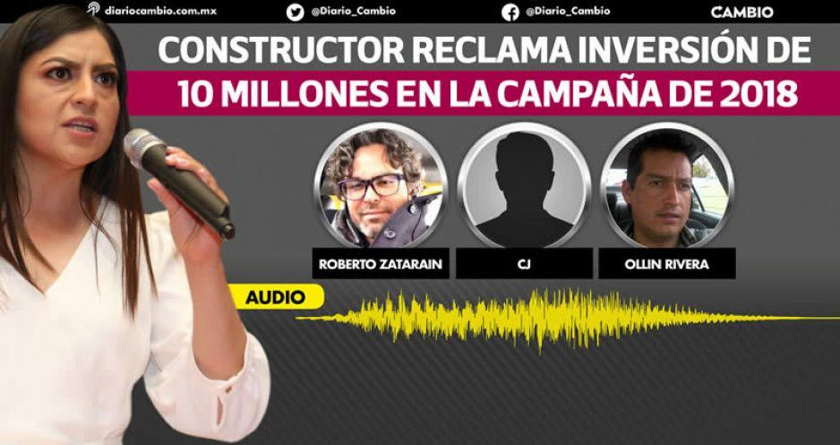AUDIO evidencia red de moches en el gobierno de Claudia operada por Zataraín y Ollín (VIDEO)